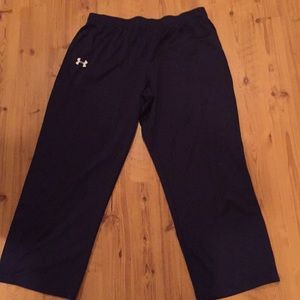 Navy Under Armour Pants